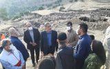 استاندار در بازدید از مناطق روستایی آسیبدیده از زلزله خبر داد:ادامه آواربرداری در مناطق زلزلهزده خوزستان / تخریب صددرصدی برخی روستاها