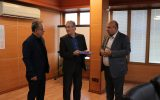 با حکم دکتر خداداد غریب پور دکتر شارخ موری به عنوان رئیس هیات مدیره ی شرکت توسعه نیشکر و صنایع جانبی خوزستان منصوب و معارفه شد